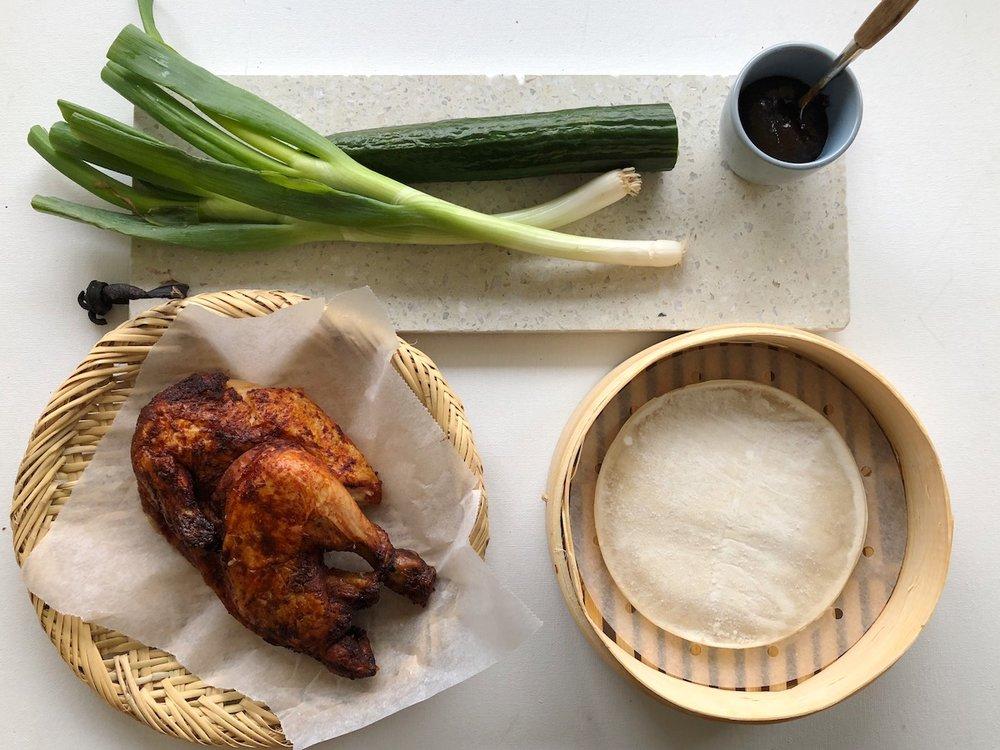 Med disse ingrediensene kan du lage et ordentlig kosemåltid på under 10 minutter! Foto: Familiematblogg