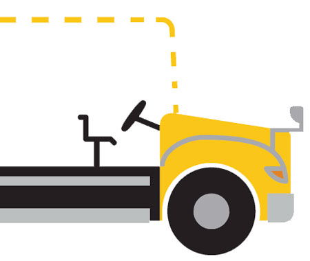 School Bus Infographics & Illustration