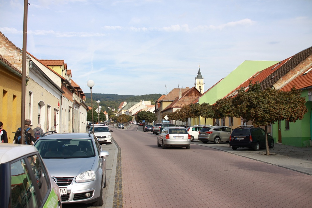 Svaty Jur, the village just outside Bratislava where the Retreat will be held.