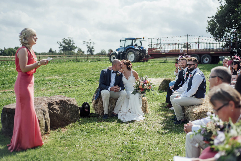 Huntsile Organic Farm Wedding+Somerset