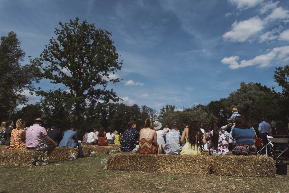 Festival wedding at Browning Bros Essex+Modern Essex Wedding Pho