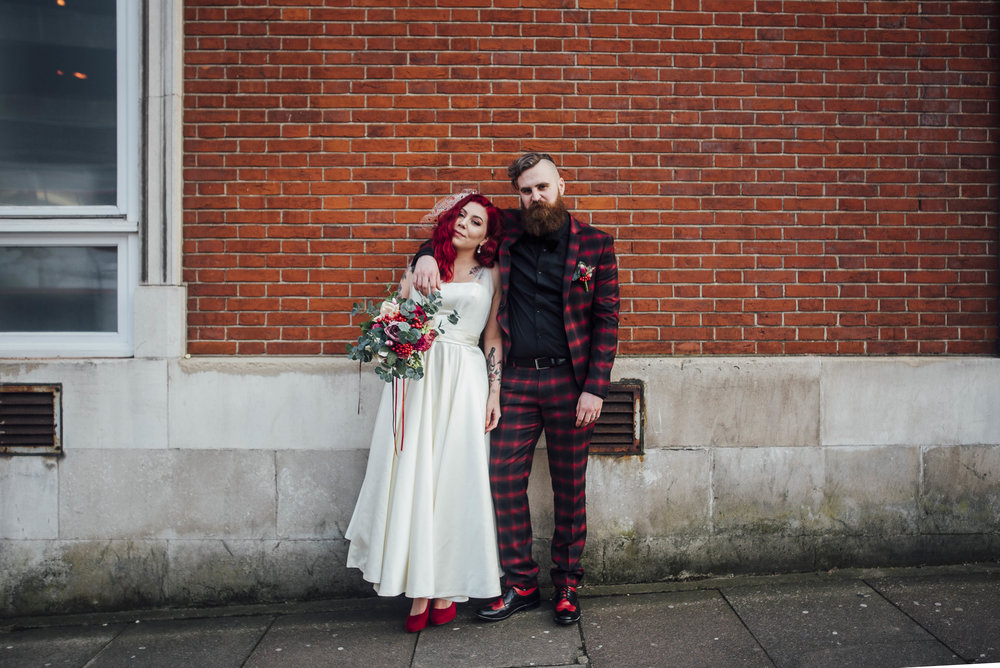 Alternative London Wedding Photographer