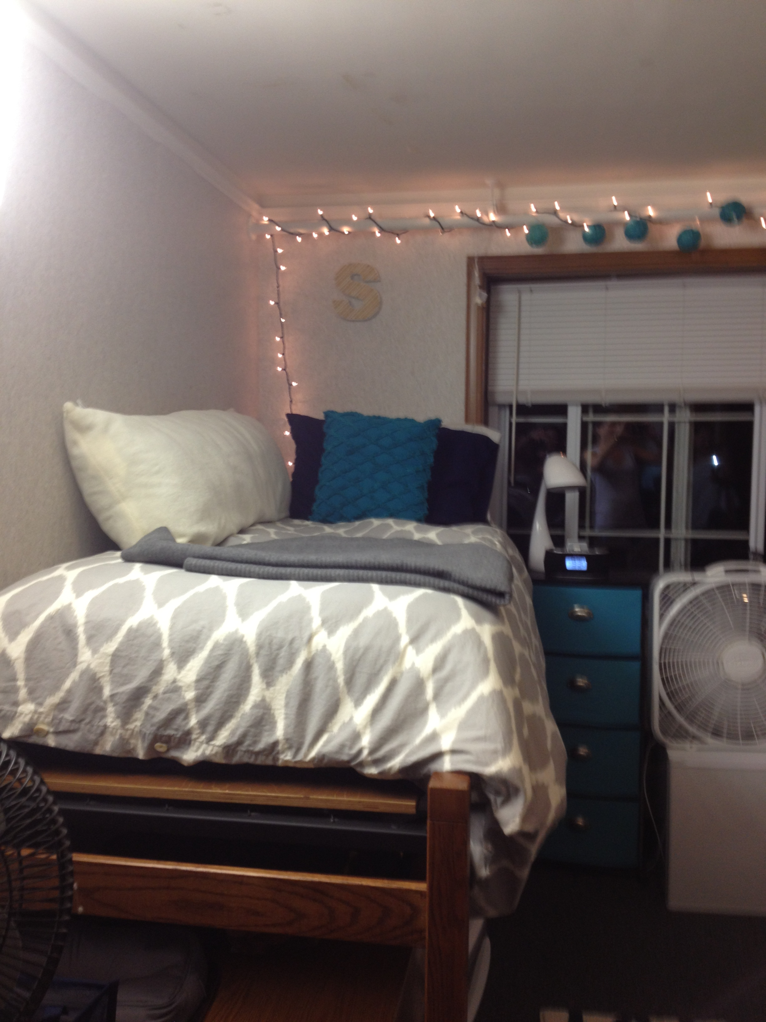 college dorm room