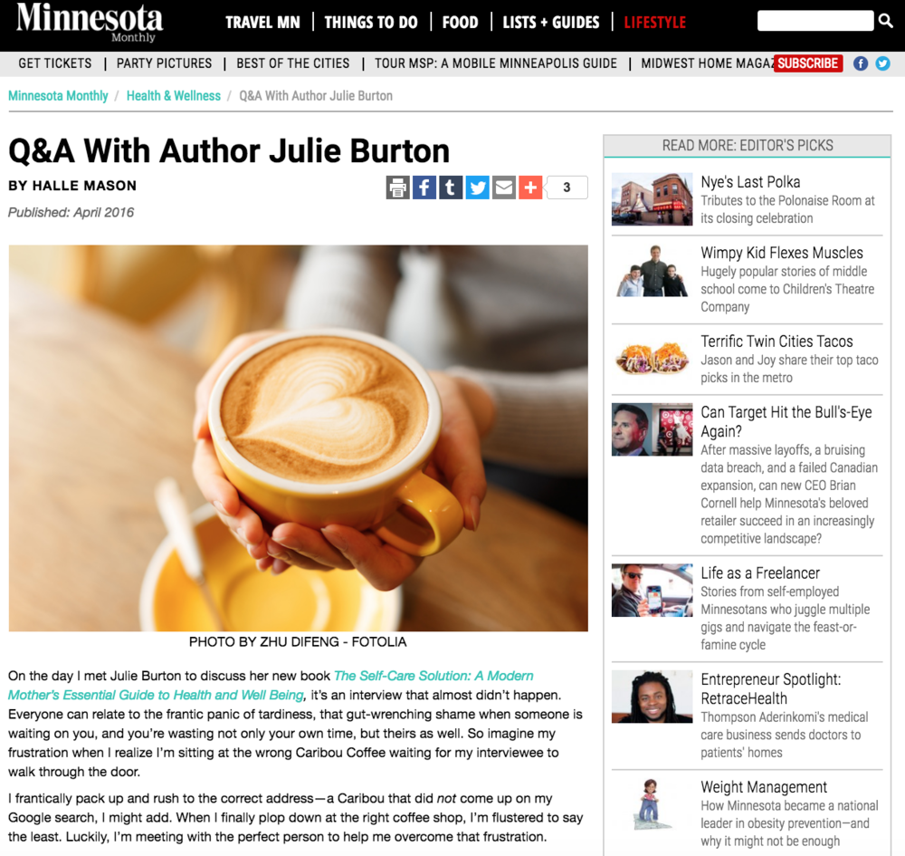 Minnesota-Monthly-Julie-Burton-Self-Care-Solution