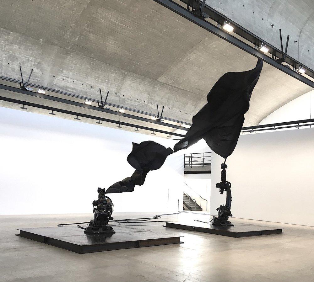 william forsythe black flags choreographic objects gagosian gallery paris numéro rachel small.JPG