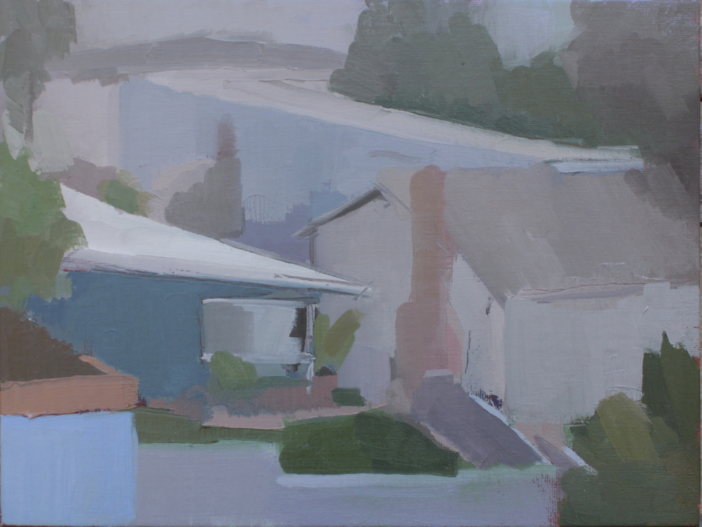 "fairview   oil on canvas  9x12""  2013"