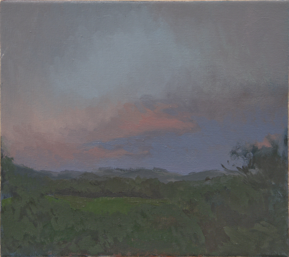 """Crescent Bay Point Park   oil on canvas  14x16""""  2013"""