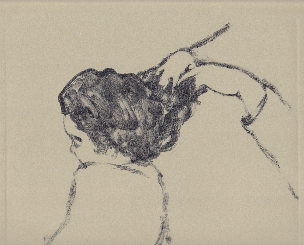 hair   ink on paper  7.5x9.75  2014