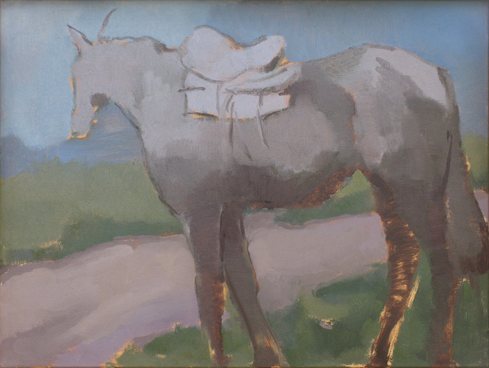 "Laredo  oil on canvas 16x12"" 2015  private collection New York"