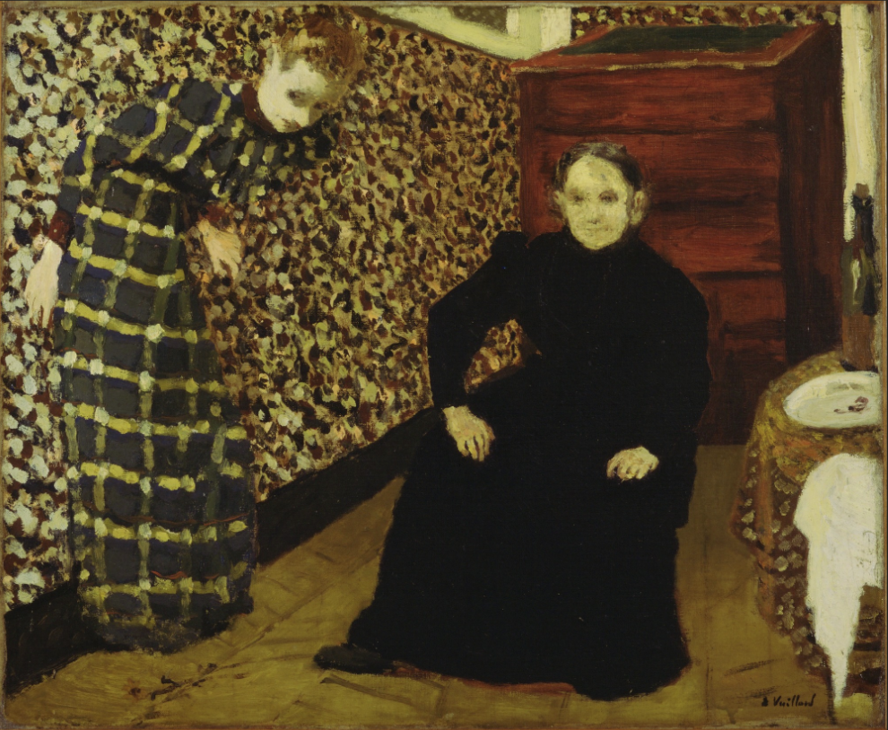 "oil on canvas, 18 1/4 x 22 1/4"", 1893"