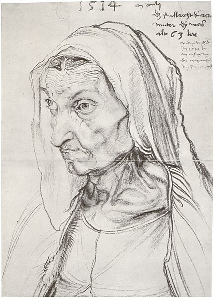 charcoal on paper, 1514