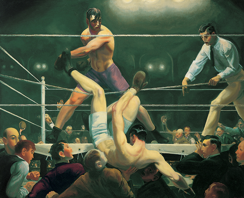 Demsey and Firpo | George Bellows (1882-1925)