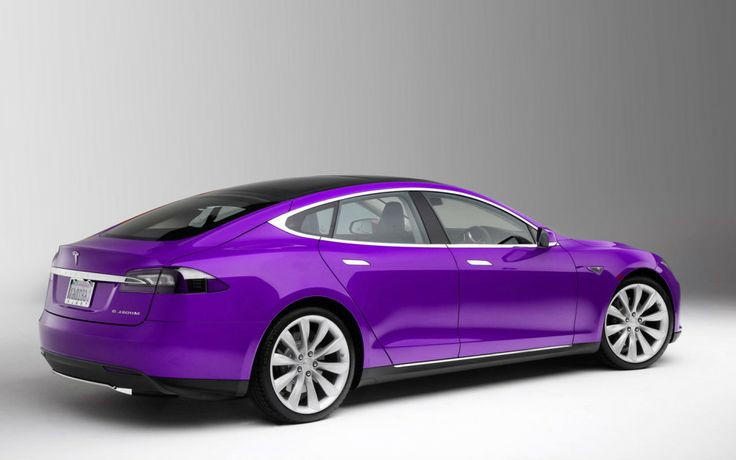 Tesla - fintech purple
