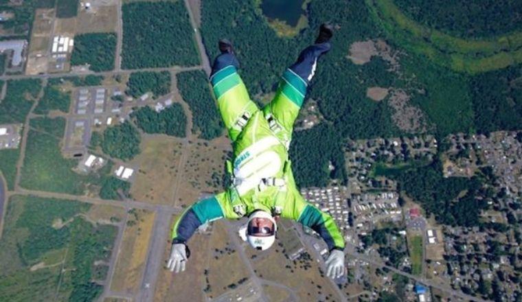 Professional Skydiver Luke Aikins