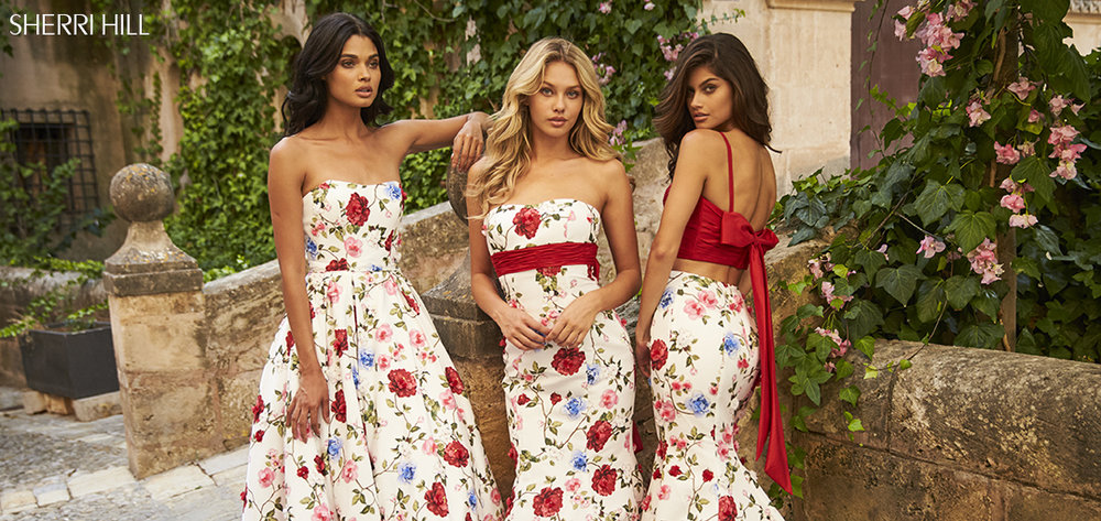 PROM ARRIVALS    SHOP SHERRI HILL PROM 2018