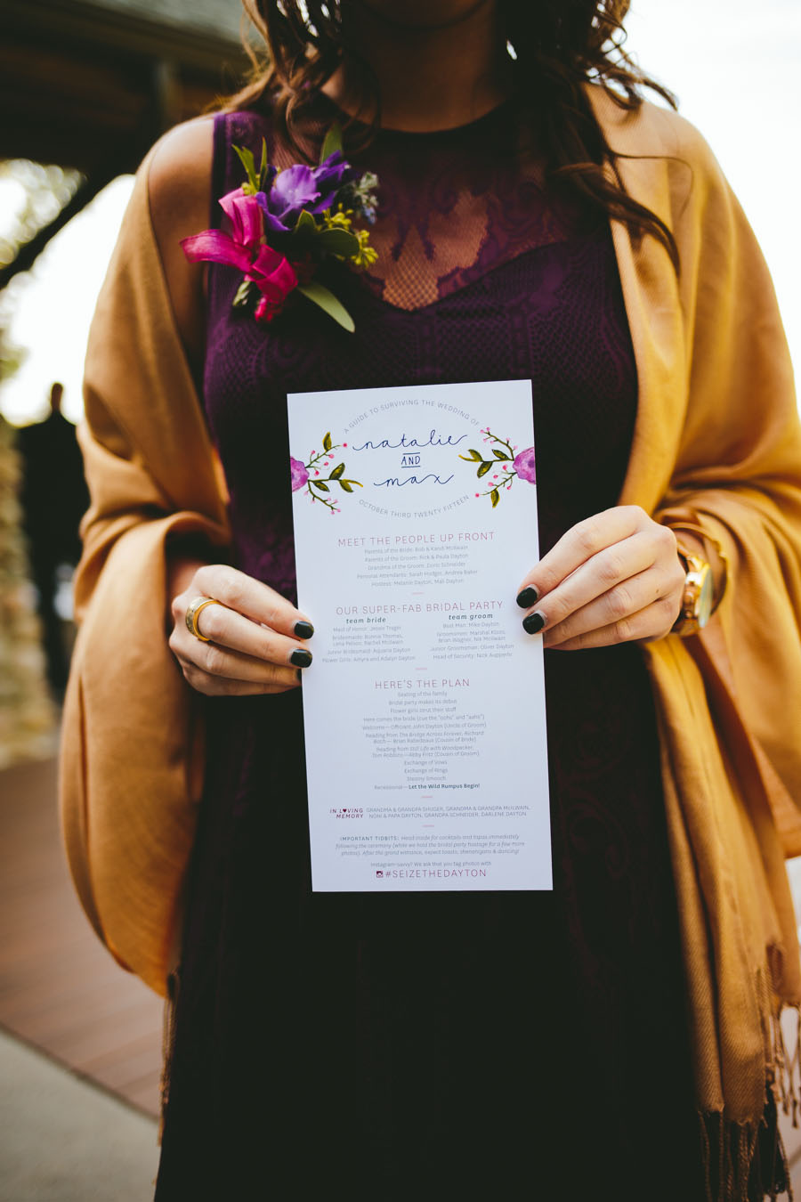 Flyover Design Co — Natalie's Wedding