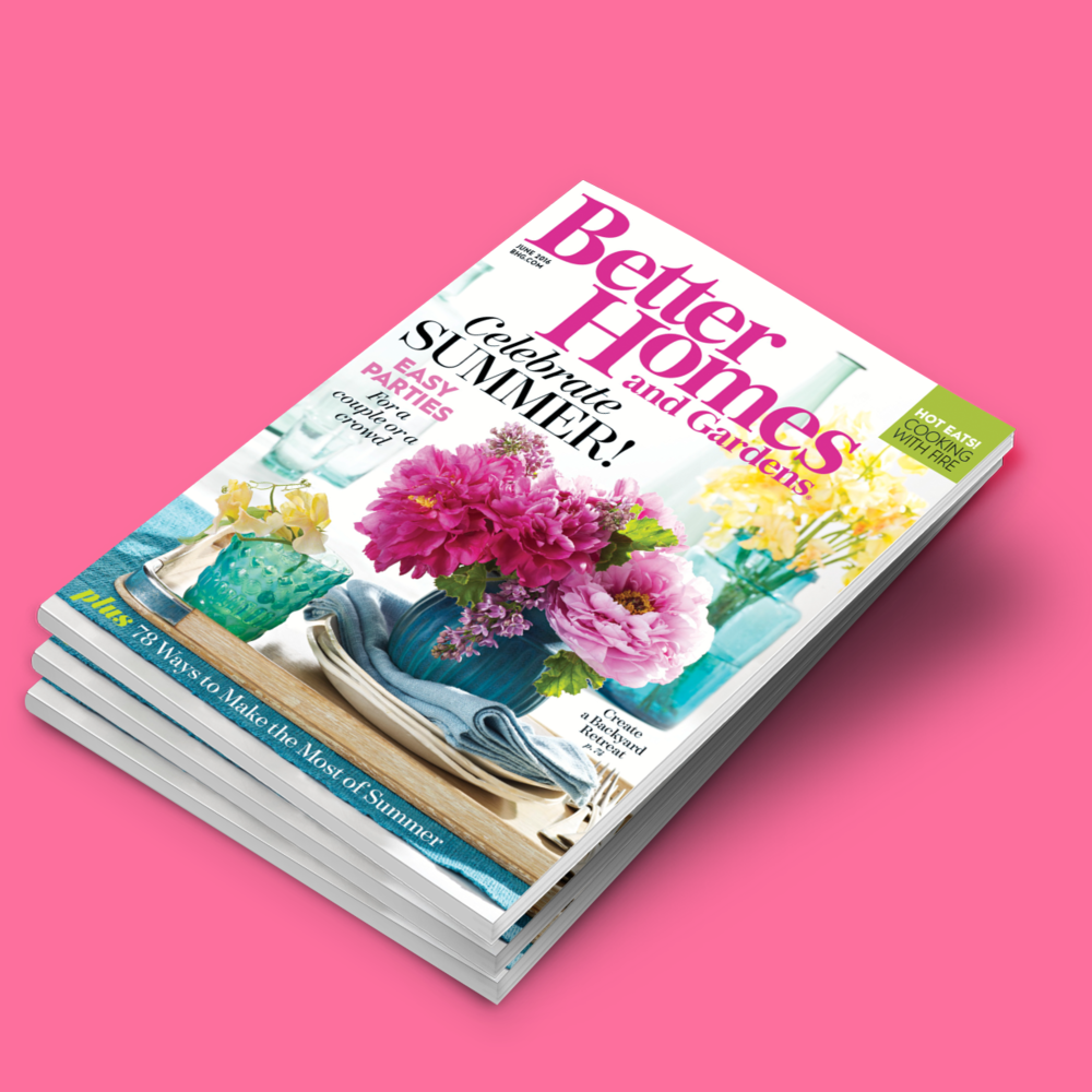 Better Homes and Gardens June 2016