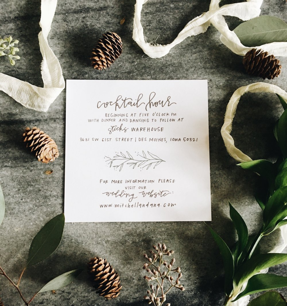 hand-lettered-greenery-invitation-calligraphy-whimsical-grey-neutrals-invitations-fall-weddingsuite-beautiful-cocktailhour