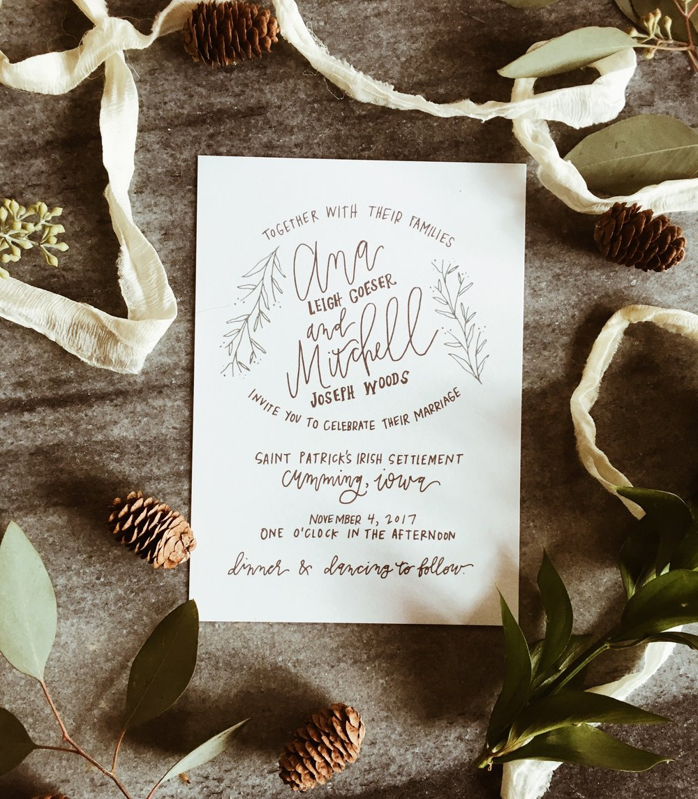 hand-lettered-greenery-invitation-calligraphy-whimsical-grey-neutrals-invitations-fall-weddingsuite-beautiful