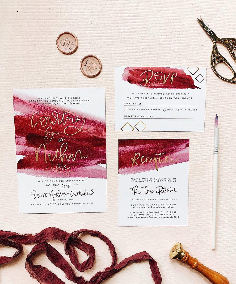 invitations — flyover design co.