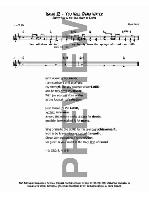 Psalms — David Mares