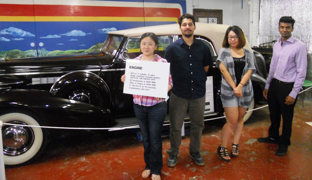 The Canadian Automotive Museum provides projects to UOIT capstone teams.