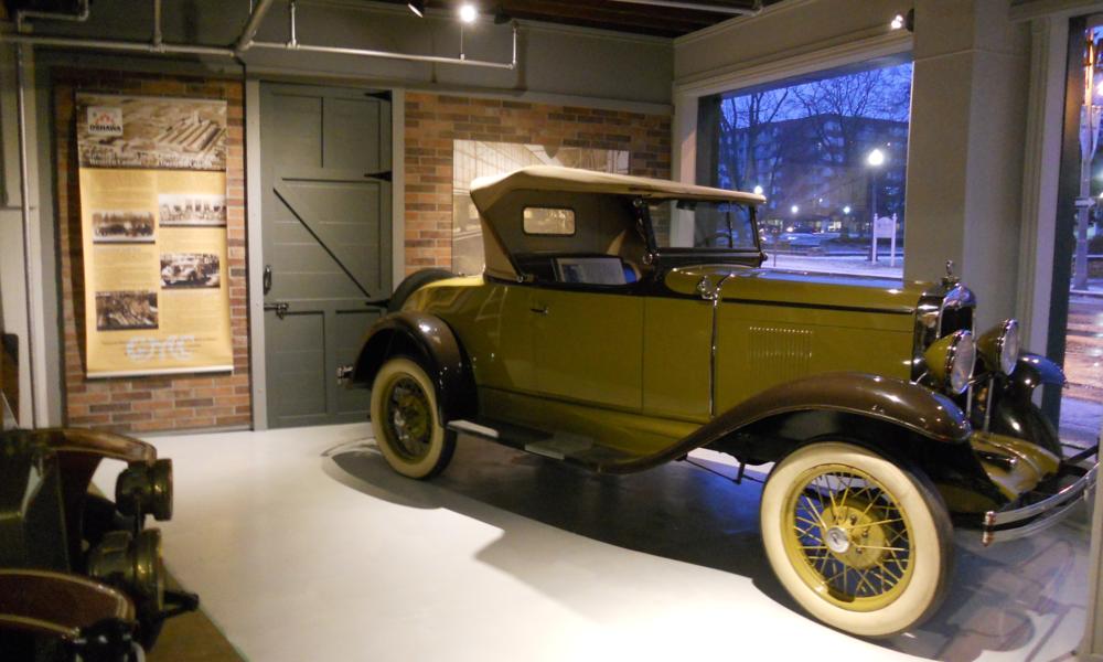 A 1929 Chevrolet built in Regina, Saskatchewan.