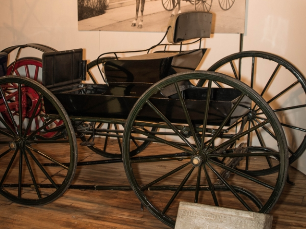 c. 1905 McLaughlin Buggy (Currently on loan to the  Remington Carriage Museum )