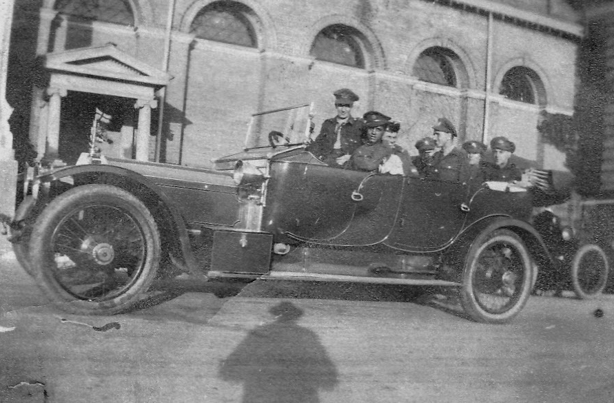 1912 Rolls-Royce at the Toronto CNE Grounds, circa 1919