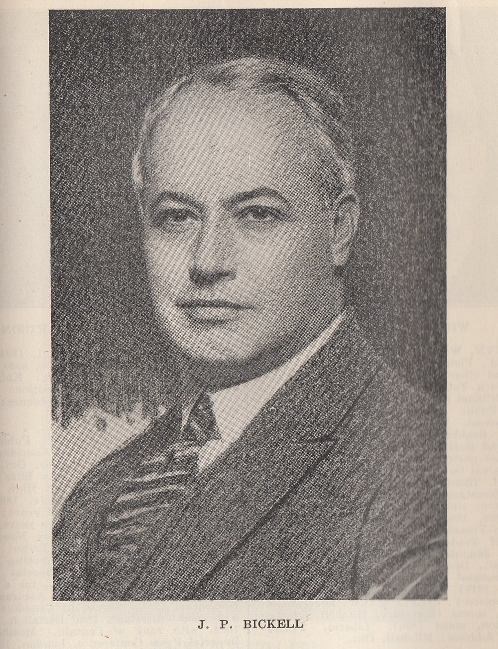 Portrait of J.P. Bickell, by Joshua Smith, 1927