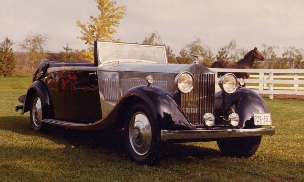 Bickell's 1934 Rolls-Royce in North York Toronto