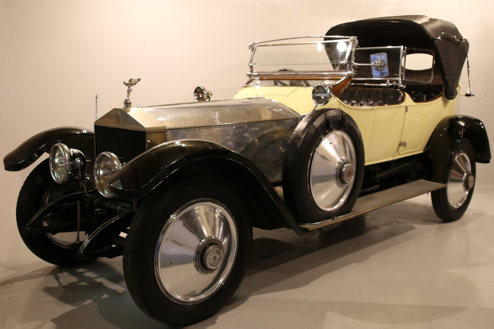 1914 Rolls-Royce Silver Ghost - Used by the Prince of Wales during the 1919 Royal Tour