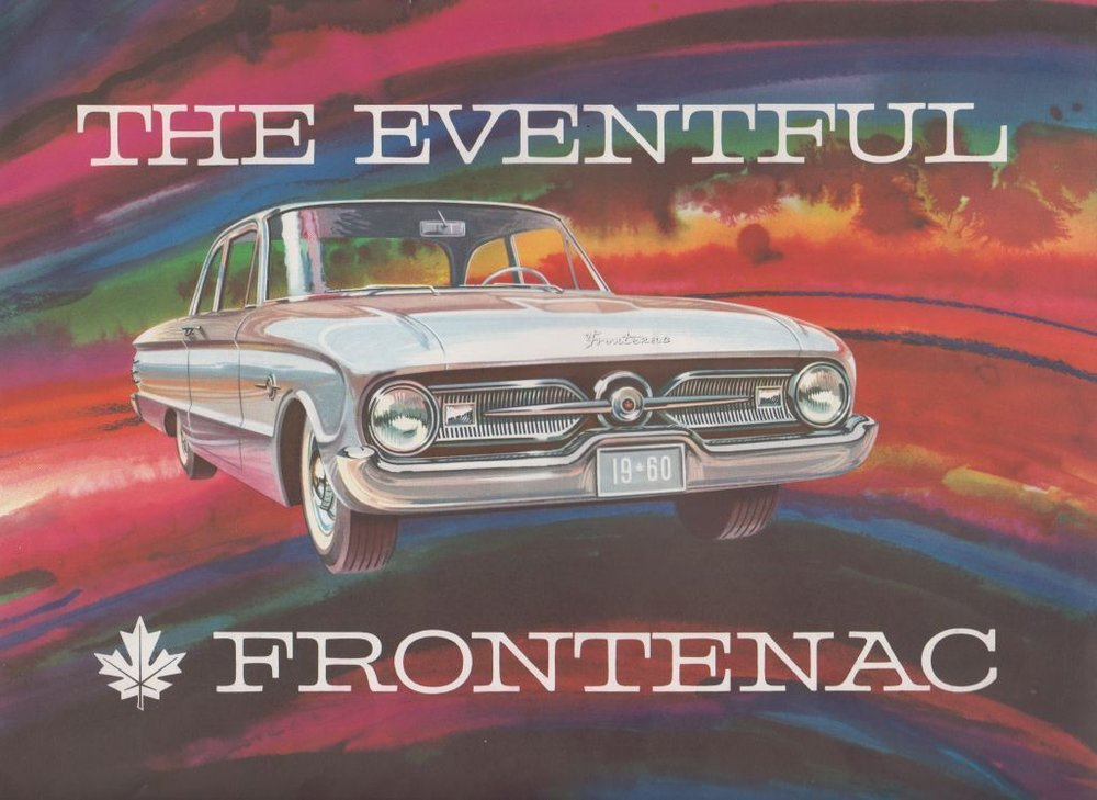 Frontenac brochure, 1960 . Collection of the Canadian Automotive Museum.