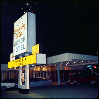 Beverly Hills Motor Hotel in North York, Ont., c.1967 . City of Toronto Archives fonds 217, series 249, file 8.