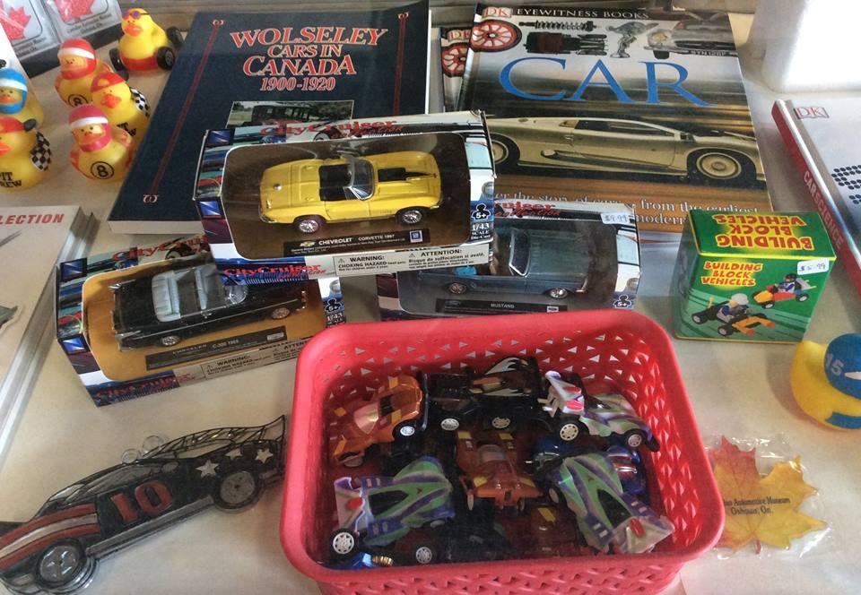 Visit the Canadian Automotive Museum's gift shop for great souvenirs.