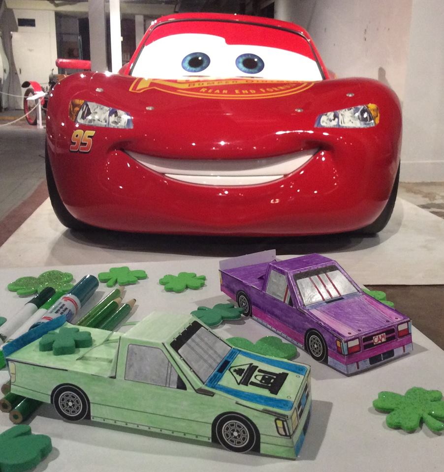 The Canadian Automotive Museum's race car craft is popular with children ages 6-12.