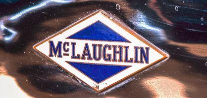 Placa de McLaughlin Buick, 1922. Colección del Museo Canadiense del Automóvil.