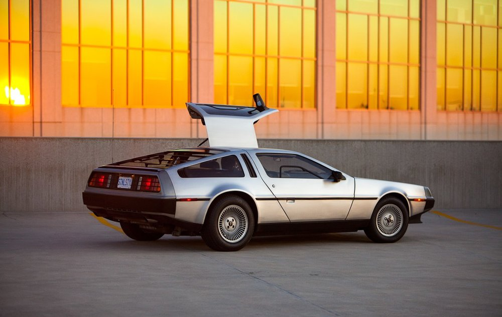 DeLorean DMC-12. Imagem cortesia de Justin Sookraj.