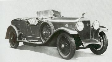 سيارة أيزوتا فرانشيني طراز 8 AS  لعام 1926.المجموعة المعروضة في متحف السيارات الكندي.