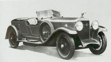 1926 年产 Isotta-Fraschini Tipo 8AS。加拿大汽车博物馆收藏。
