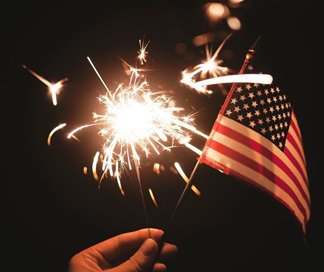 Today we remember and celebrate all those, past and present, who work tirelessly so that America can maintain her freedom. #happyindependenceday #happy4th
