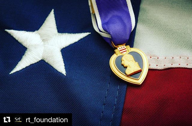 A great reminder. #Repost @rt_foundation ・・・ The Purple Heart was first created on August 7, 1782 by the commander-in-chief of the Continental Army, General George Washington. Then known as the Badge of Military Merit, it was awarded to 3 Revolutionary soldiers in 1783.  Purple Heart Medals are awarded to those brave soldiers wounded or killed while serving the Untied States Armed Forces. Please take a moment today to thank those who have given their lives or suffer from wounds sustained from their time in war. Their sacrifices never go unnoticed and we will pay our respect today and everyday for them.  #PurpleHeartDay #respect #military #history #war #combat #woundedinaction #killedinaction #purpleheart #2018 #rtfoundation #idontplanonrunning
