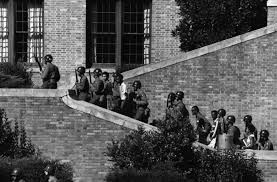 The Little Rock Nine in 1957
