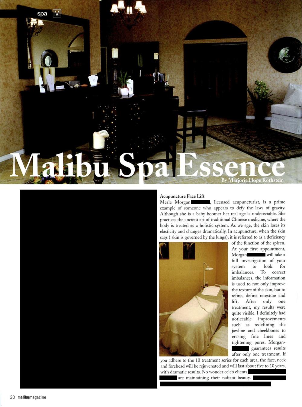Malibu Magazine October 2005