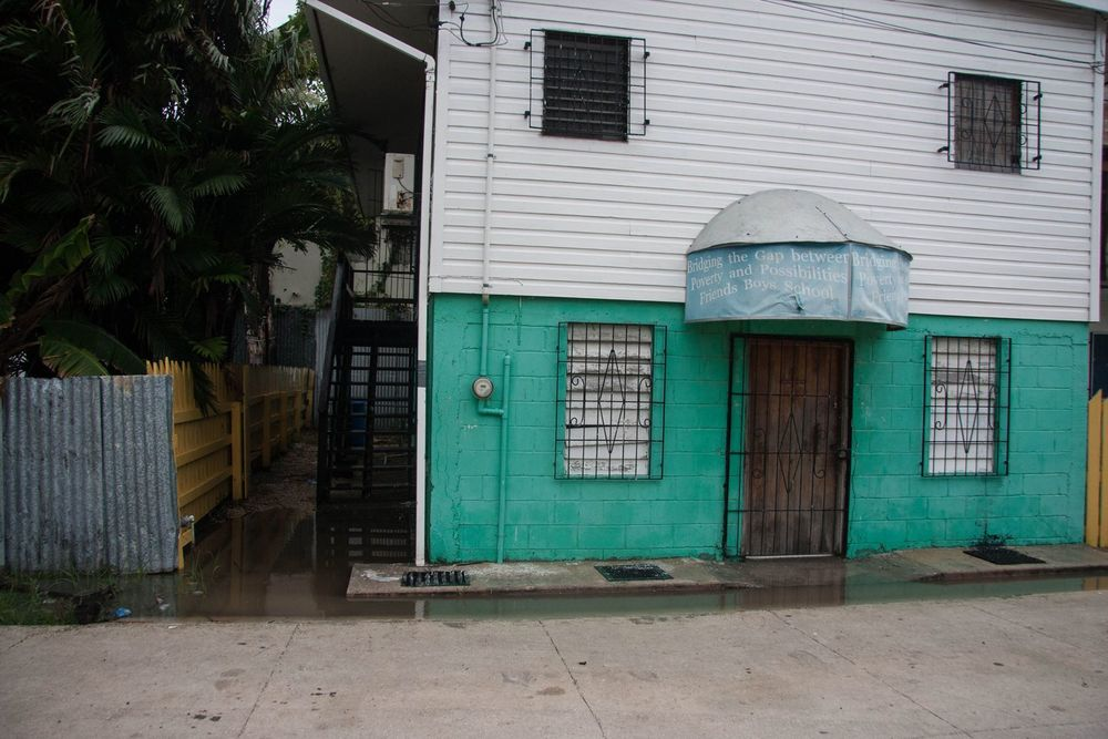 Current Belize Friends School Building
