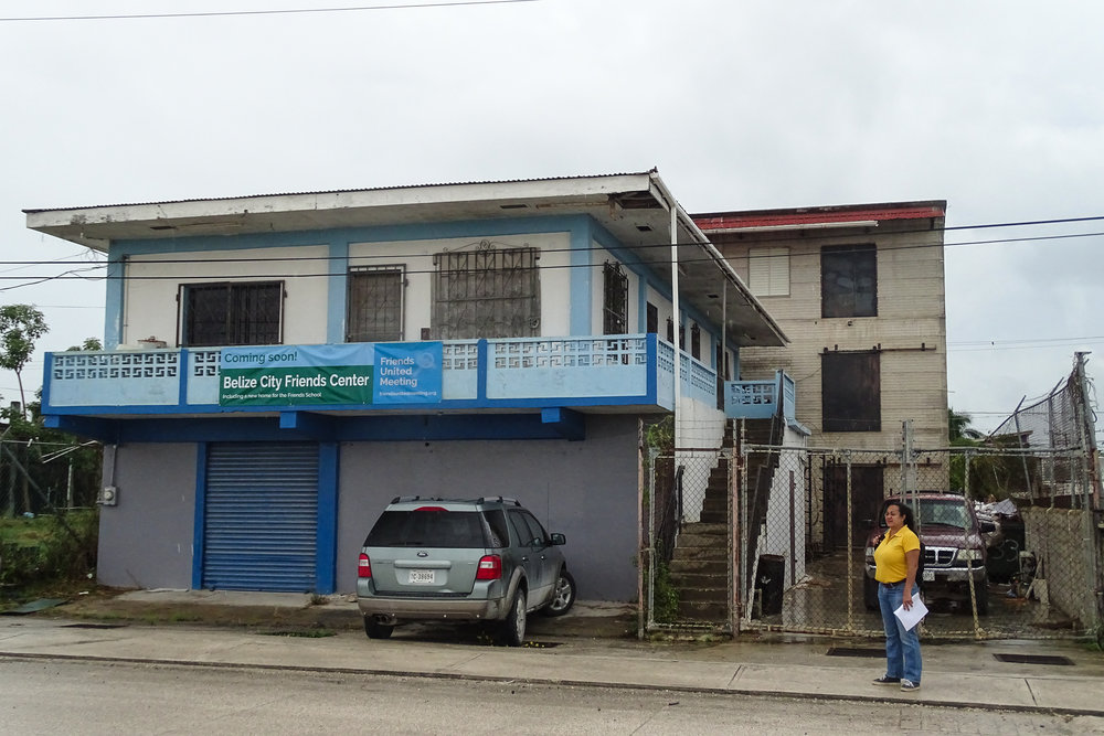 New Belize Friends Center Building