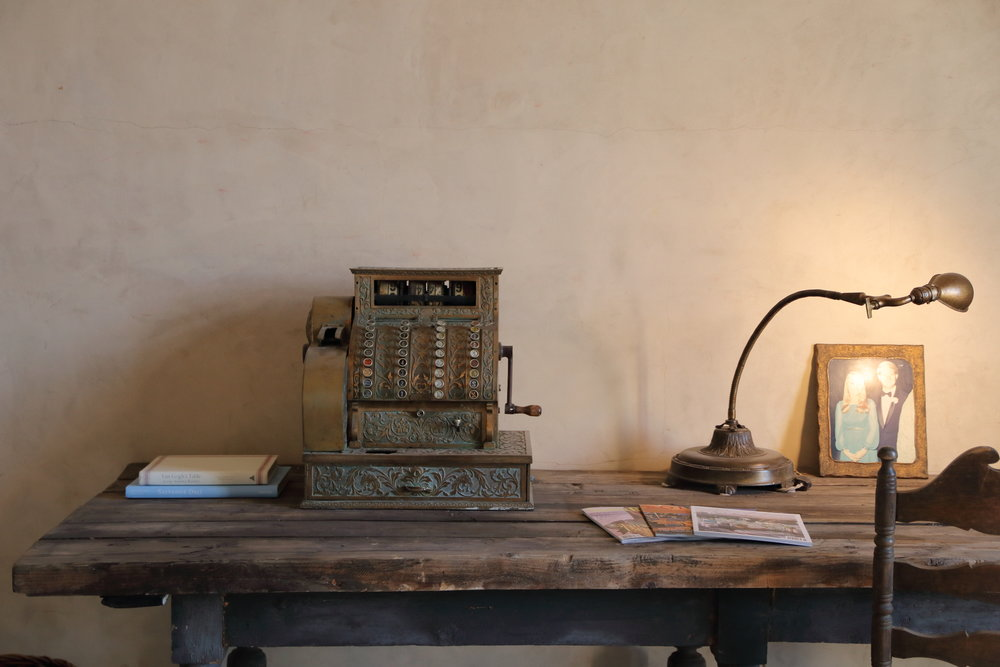 Office Detail. If an antique cash register isn't your thing, there is also a functional modern-day printer (not pictured).