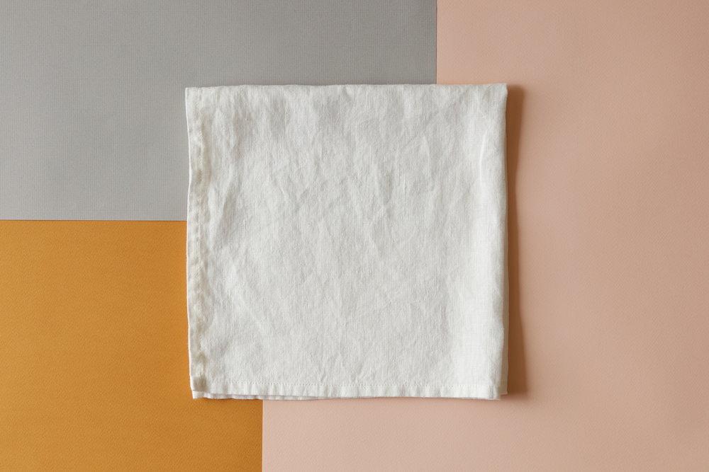 Oyster White Linen Napkin Square.JPG