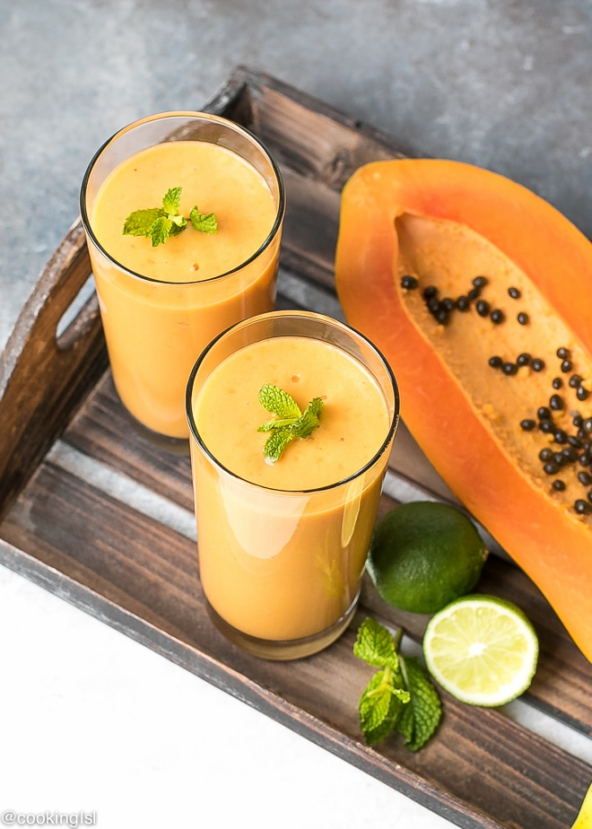 turmeric-papaya-smoothie