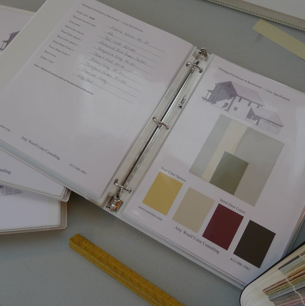 Amy Woolf Color Consulting  www.awcolor.com